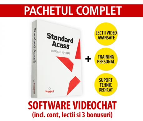 Software videochat Standard Acasa - Pachetul Complet